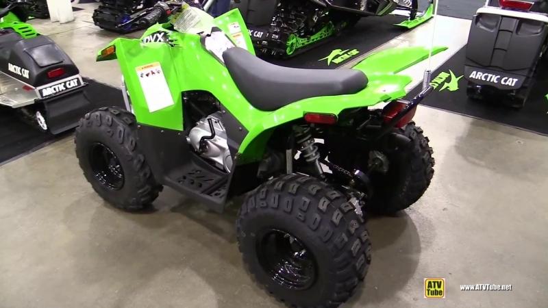 2018 Arctic Cat DVX 90 Sport ATV - Walkaround - 2017 Toronto Snowmobile ATV Show