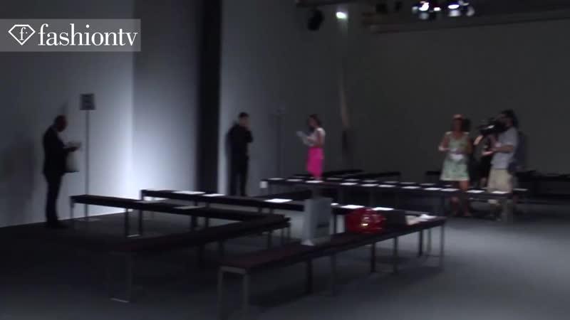 Vivienne Westwood Backstage - Milan Mens Fashion Week Spring 2012 _ FashionTV -