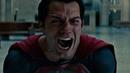 Супермен убивает генерала Зода. Человек из стали. 2013.