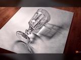 3-d рисунки карандашом