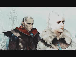Ciri × Avallac'h – AU – Daughter of Space and Time