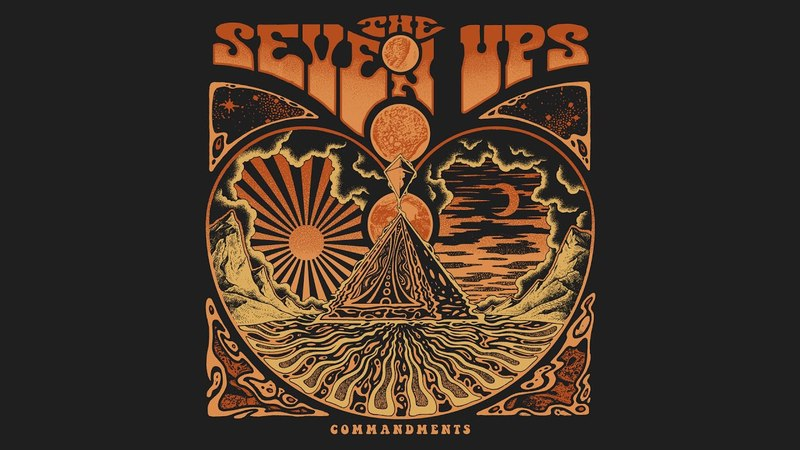 The Mountain Pass by The Seven Ups from the album Commandments 2018