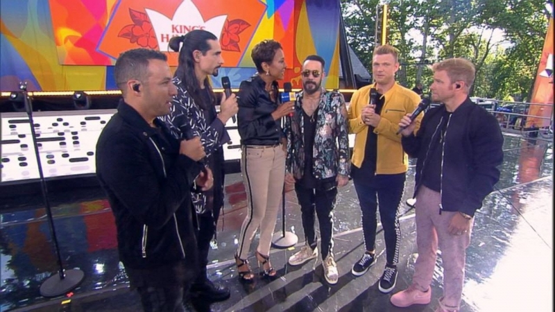 Catching up with the Backstreet Boys live on 'GMA'