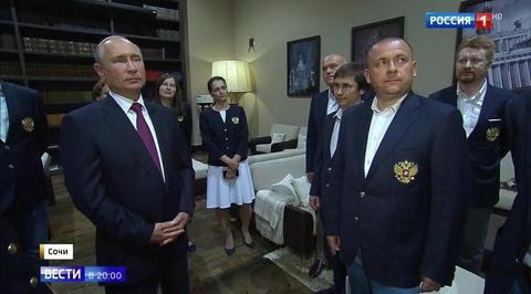 Владимир Путин: шахматы - красивый вид спорта