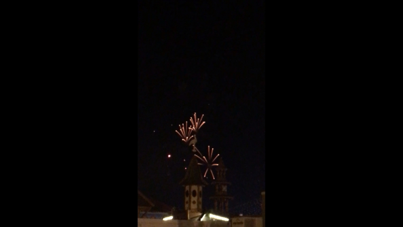 Закрытие лунапарка в Карлсруэ