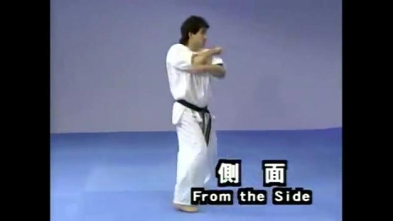 Каратэ Киокушинкай- Ката - Цуки Но - Kyokushin Karate- Kata - Tsuki No