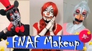 ● NEW The Best FNAF Makeup Cosplay Lefty Chica Mangle And Many More