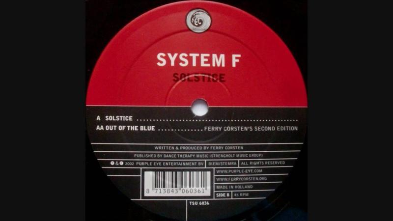 System F-Solstice (Original Extended Mix)