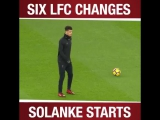 Reds get ready as Solanke prepares for his first #PL start ?