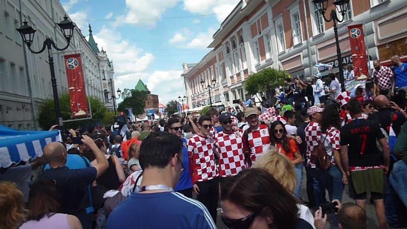 МОНДИАЛЬ 2018г. Нижний Новгород Аргентина-Хорватия