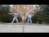 Кристина и Вика крутой танец