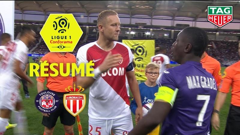 Toulouse FC - AS Monaco ( 1-1 ) - Résumé - (TFC - ASM) / 2018-19