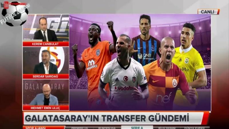 GALATASARAY Spor Ajansı 27 ¦ Uefa, Trezeguet, Ahmet Musa, Niasse Yorumları 27 haziran 2018