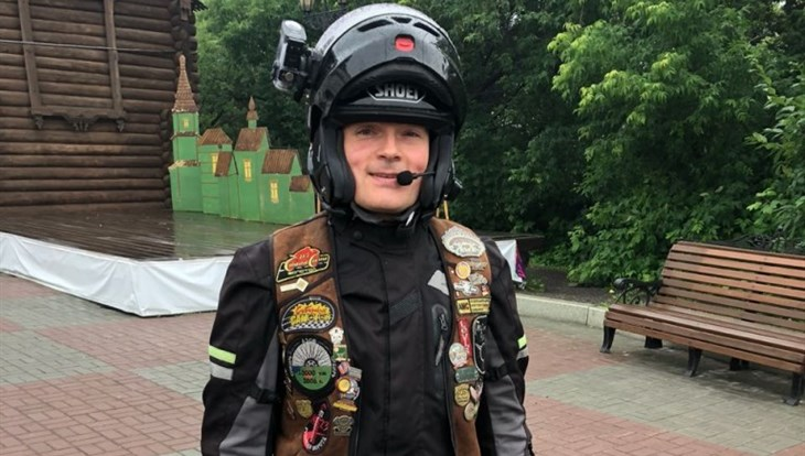 Томич планирует проехать 20 тыс км на мотоцикле, чтобы снять фильм