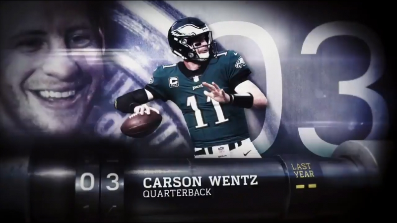 Top 100 Players of 2018 № 3 Carson Wentz