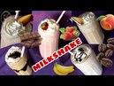 Milkshake Nasıl Yapılır Taze Meyvelerle Buz Gibi Bir Serinlik SAĞLIKLI İÇECEKLER ŞEFFAF MUTFAK