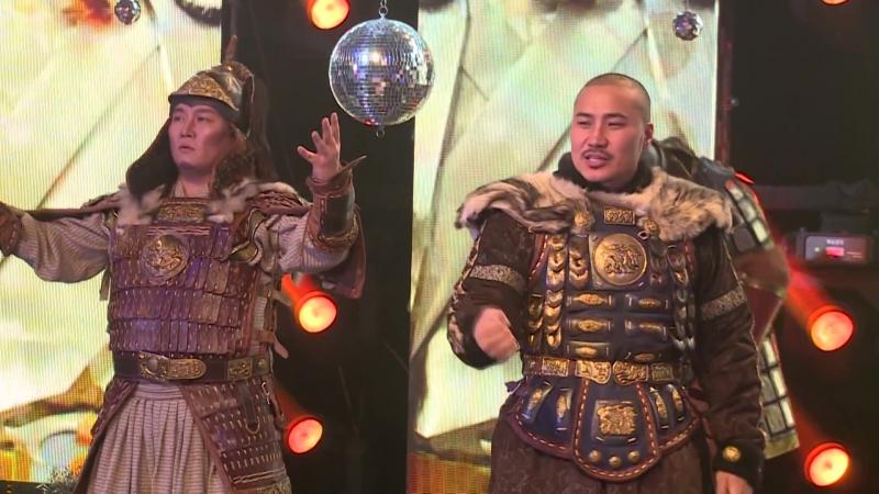 Монгольская группа Драм4 либо Драмын 4 все артисты Улан Баторского музыкально драматического театра к 10 летнему Юбилею с