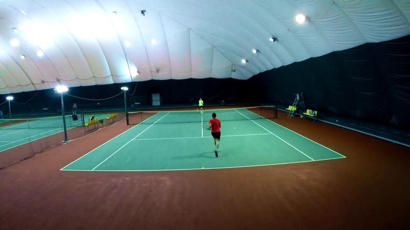 Tennis (indoor hard) 12.07.18 vs Roman T.