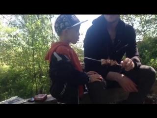 Артём и Илья.Шашлык.20.05.2018.