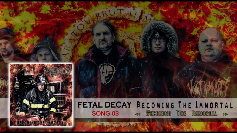 Fetal Decay - Becoming the Immortal (Full EP Stream)