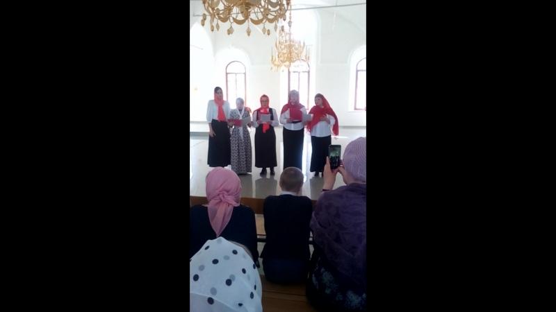 Концерт В храме праведных Захария и Елисаветы. Тобольск