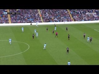 Чемпионат Англии 2017-2018 / 35-й тур / Манчестер Сити (Манчестер) – Суонси Сити (Суонси) / 1 тайм [720, HD]