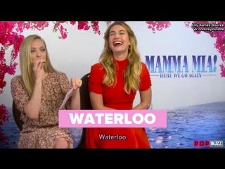 Лили и Аманда дают интервью ютуб-каналу «PopBuzz» (русские субтитры)