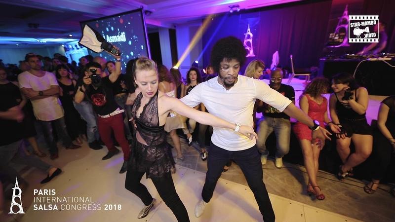 Terry SalsAlianza Alex - social dancing @ PARIS INTL SALSA CONGRESS 2018