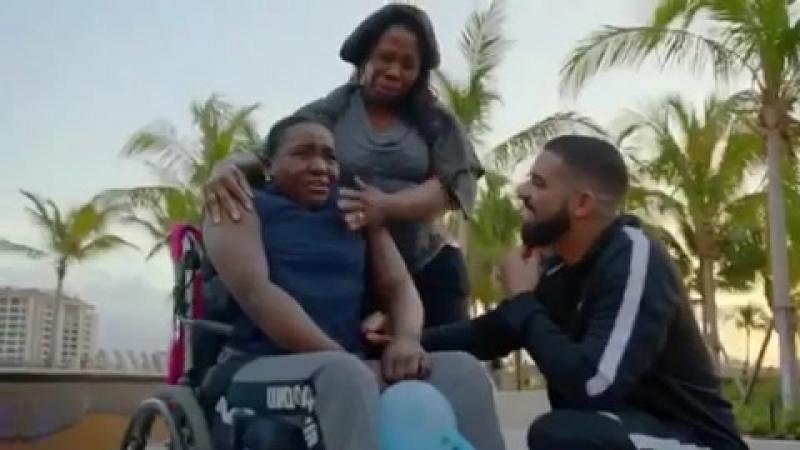 [Тренды музыки] Drake в последнее время стал известен тем, что при съемке своего клипа Gods Plan раздал людям 1 миллион долларов