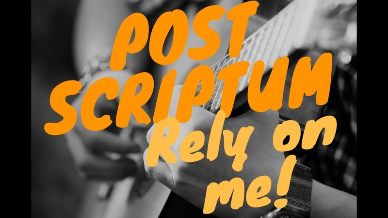 PS — Rely On Me (original song by Paul Sattarov)