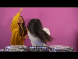 "Samira and Kayla - Practice DJ video to LL Cool J ""Rock The Bells"""