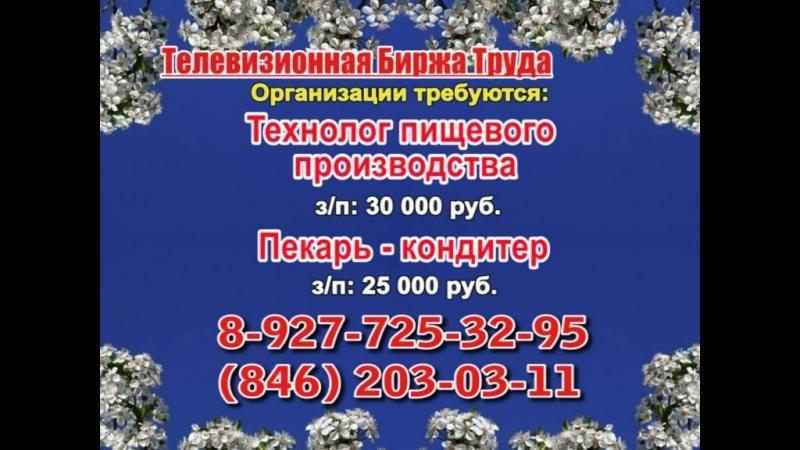 17 мая _19.20_Работа в Самаре_Телевизионная Биржа Труда