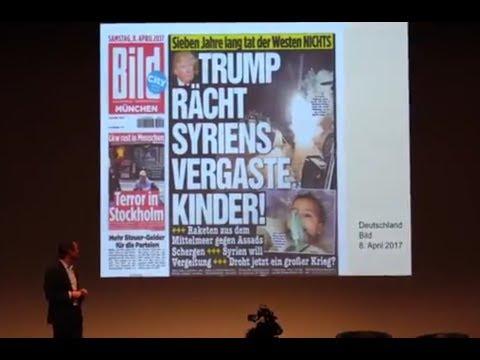 Wie Medien manipulieren Die Schock-Strategie Daniele Ganser Gabriel Palacios.Oktober 2017
