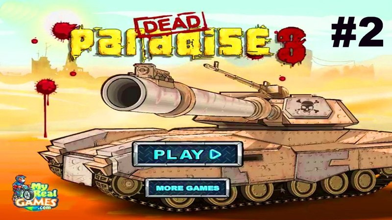 Мертвый Рай 3 Игра про Машинки Шутер Гонки Стрелялки 2