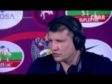 Интервью с Андреем Черепахиным и Вартаресом Самургашевым на ЧЕ по борьбе