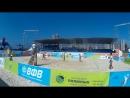 Beach volley Russia Kazan 2018 W 08 Frolova-Sviridova and Rudykh-Zayochkovskaya