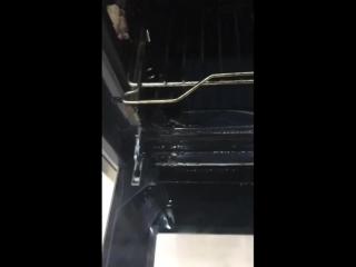 Результаты уборки со средство от жира и нагара Freshbubble