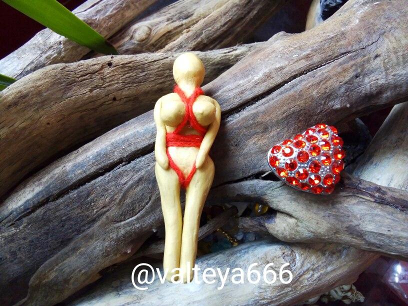 эзотерика - Куклы-талисманы для привлечения благ. Черный Вольт и бамбуковые иглы для пожизненно  - Страница 2 RYb9XR6c8gA
