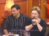 Мария Аронова и Эфим Шифрин в приюте комедиантов