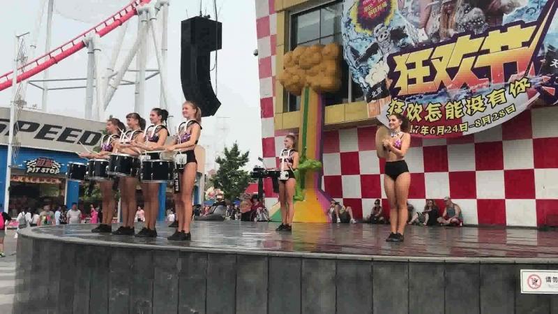 Happy Valley drummer- dancers show