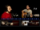 Кабы не было зимы ПРОСТОКВАШИНО Как играть на гитаре 3 партии Аккорды таб