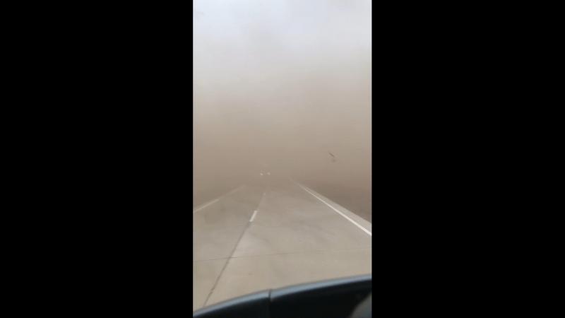Буря в бурятской пустыне