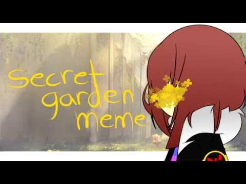 Secret Garden Meme [FlowerFell Frisk][][FLASH WARNING]