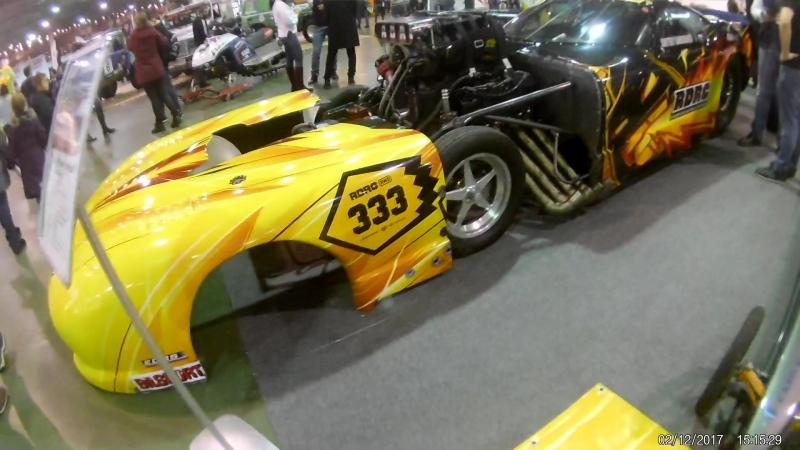 Выставка моторспорт в Сокольниках