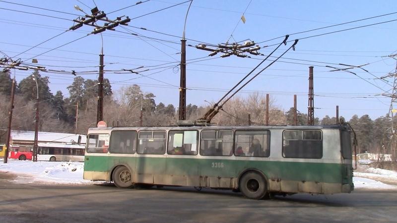 Тольяттинский троллейбус последние ЗиУ 682
