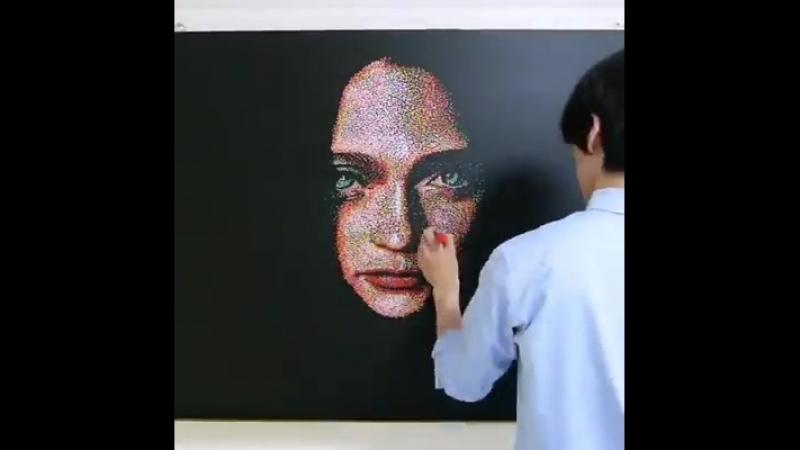 Amazing paint by artist toru.kn