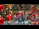 Офигенное поздравление с Рождеством в супермаркете!