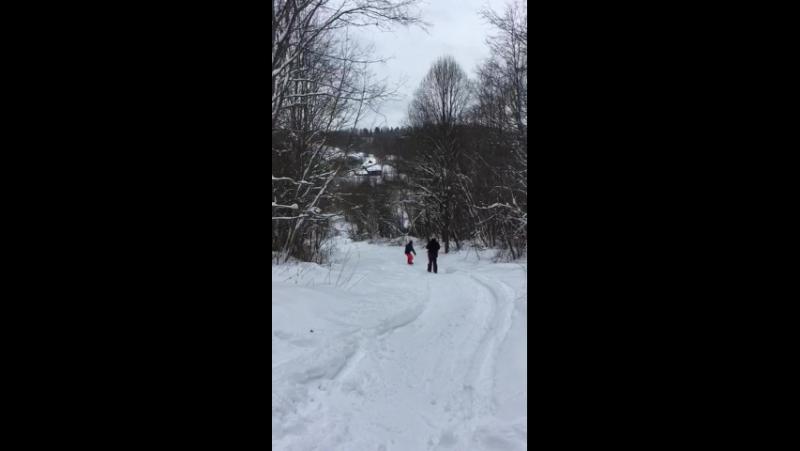 Cвободный спуск_Заборовье сноуборд-школа sb69.pro