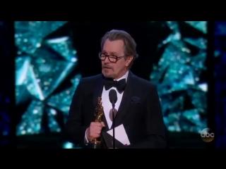 Актёр Гэри Олдман, завоевавший премию киноакадемии США