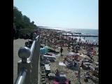 ОТДЫХАЙ | Такое ощущение, что жаркий пляж Зеленоградска, по кол-ву отдыхающих скоро переплюнет лучшие курорты мира). @ vin_a_m_a